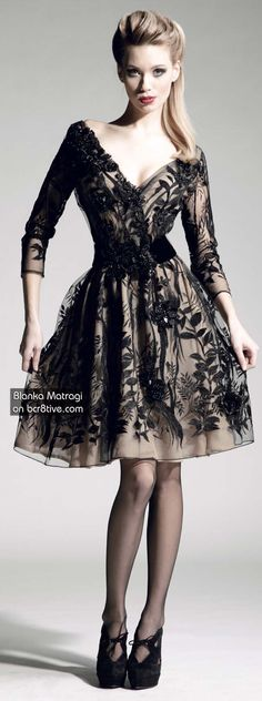 Blanka Matragi Couture Dresses 2013 love the skirt but the necklines a bit more then I like