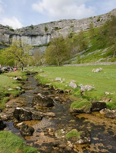 Gordale scar to Malham Cove - I've done this walk far too many times. The best and most memorable was in the middle of winter, and we all got stuck on a rock in the middle of the raging river coming out of the cove. It wasn't the best position to be in at the time, but we had a good laugh about it afterwards!