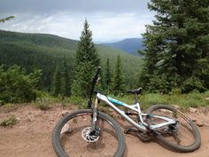 SB95 at home on the trail at the 2012 Yeti Cycles Tribe Gathering in Minturn, Colorado.