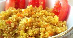 Fabulosa receta para Quinoa con verduritas y especias: muy nutritiva y 100% vegana.