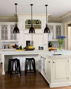 Traditional Kitchen by S. Russell Groves in Raleigh, North Carolina