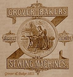 GROVER & BAKER SEWING MACHINES, SEWALOT
