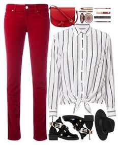 """street style"" by ecem1 ❤ liked on Polyvore featuring Armani Jeans, Equipment, Balenciaga, Lack of Color, KC Jagger and Charlotte Tilbury"