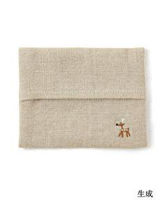 鹿のポケットティッシュケース|日本市 日本の土産もの|中川政七商店公式通販