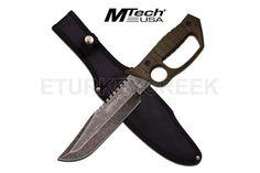 MTech USA MT-20-59GN FIXED BLADE KNIFE 14