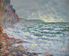The Sea at Fecamp - Claude Monet
