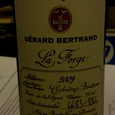 Carignan/Syrah blend from France's ex-international rugby player, Gérard Bertrand. £29 from Laithwaites.
