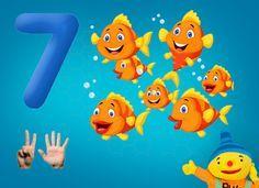 Rekenprikkels - 7 vissen