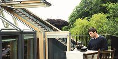 VELUX CABRIO® balkonvenster - van dakraam / dakvenster naar balkon in een handomdraai