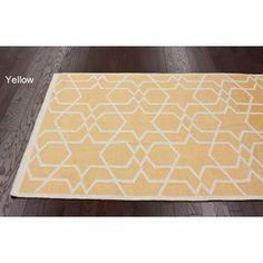 Handmade Flatweave Marrakesh Kilim Wool Rug (5' x 8') | Overstock.com