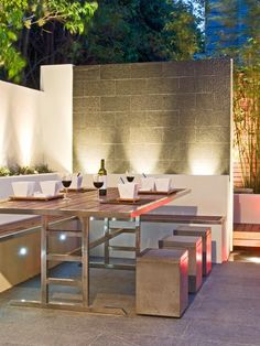 Contemporary Outdoor Stools And Benches Design, Pictures, Remodel, Decor and Ideas - page 2