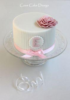 Pretty girl's birthday cake