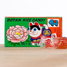 Botan Rice Candy, an interesting tangy taste Super cute packaging! pick it up at world market, give it a try!