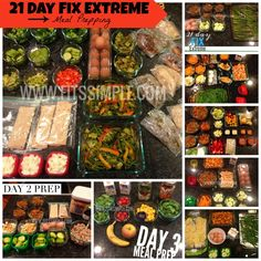 How to Prep for the 21 Day Fix Extreme - MEAL IDEAS and MEAL PREP!  Keep it simple!  That is the name of this game.  If you need support through this program, reach out to me.  I'm happy to help!  Leslie@Fitssimple.com  Enjoy!!