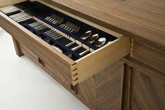 Wooden Kitchen Drawers Kitchen Utensils Organizers