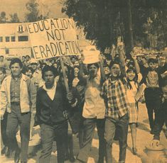 Chicano Student WALKOUTS- March 6th-9th, 1968
