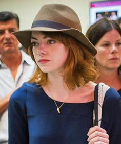 Emma Stone's New Hair Color And Cut Are Perfection, Of Course #Refinery29