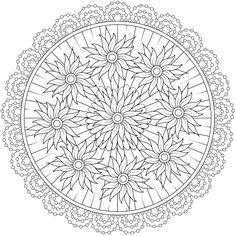 Ninth Circle - a free printable coloring page. One of 100+! https://mondaymandala.com/m/ninth-circle?utm_campaign=sendible-pinterest&utm_medium=social&utm_source=pinterest&utm_content=&utm_term=fancolor