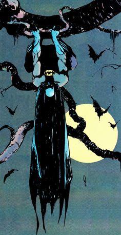Just Hanging Around in Batman #431 (March 1989) - George Pratt