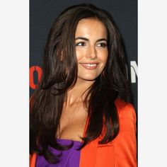Camilla Belle:Camilla's loose, sexy hair and vibrant outfit take center stage here, while her natural beauty shines through. Her flawless skin, natural lips and defined brows are timeless, while an unexpected pop of colored liner adds a fun, flirtatious and youthful vibe.