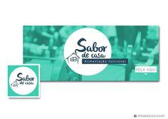 PERFIL + CAPA FACEBOOK sabor de casa - Criciúma