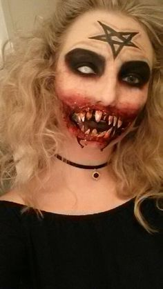HALLOWEEN MAKE UP TUTORIAL SMILEY She\'s the best!!   Face painting ...