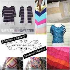 50+ Cheap & Classy Anthropologie Knock-Off Crafts | FaveCrafts