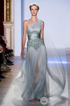 Zuhair #Murad #Haute Couture 2013 #fashion - ** Wonder if i can alter my bridesmaid dress to look like a cocktail version of this **