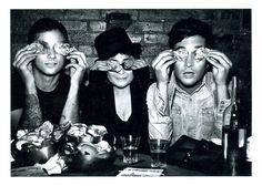 Jack, Lazaro & Yoko Ono photographed by Max Vadukul for W Magazine