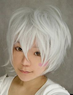 White wig for Ursula Cosplay