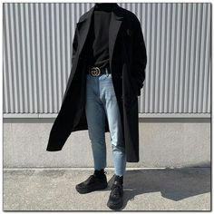 Korean Fashion Men, Korean Street Fashion, Mens Fashion, Streetwear Mode, Streetwear Fashion, Teen Fashion Outfits, Classy Outfits, Trendy Outfits, Fashion Ideas