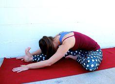 Head To Knee Forward Bend Pose | BeachbodyBlog.com