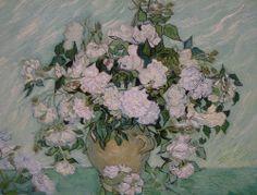 Vincent van Gogh Dutch, 1853 - 1890 Roses, 1890 oil on canvas, 71 x 90 cm (28 x 35 1/2 in.) Gift of Pamela Harriman in memory of W. Averell Harriman 1991.67.1