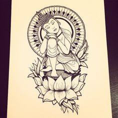 Adelaide M. — Sleeping Buddha By Adelaide Mitchell