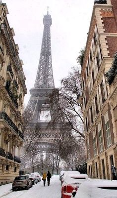 Paris in snow, Paris in Spring, Paris in rain...I'll take Paris any time.