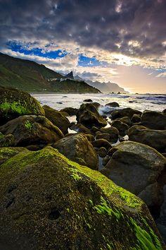 Landscape / Nature, Rocas de Almáciga, Playa de Almáciga, Parque Rural de Anaga, Tenerife, Islas Canarias