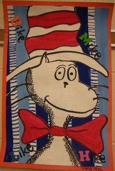 3rd Grade Dr. Seuss Cats