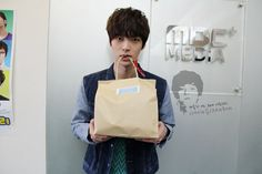 "[20130131] Radio "" Picture credit: Ahn Jae Hyun official fancafe - The Present """