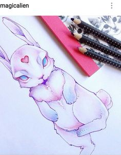 Anime Tattoos, Body Art Tattoos, Girl Face Drawing, Kawaii Tattoo, Hello Kitty My Melody, Trash Art, Witch Art, Sketch Inspiration, Creepy Cute