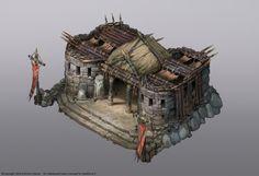ArtStation - Spellforce 3 Orc buildings, Vladimir Krisetskiy