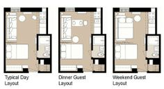 5 Smart Studio Apartment Layouts | Apartment Therapy