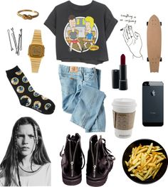 """yeah"" by grimess ❤ liked on Polyvore"