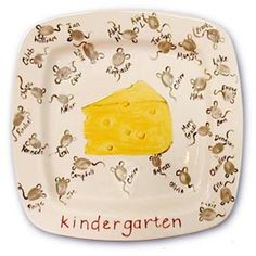 Fingerprints turned into mice with cheese. Cute delivered with cheese and a knife or a #giftcard to deli.