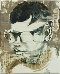 Bad Boys Have a Nice Haircut III, oil on canvas, 28x23cm (11x9), 2017    Paintings 2017 | Bartosz Beda