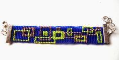 Loom bracelet (by my pattern).