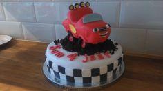 Blaze en de monsterwielen taart / Blaze cake