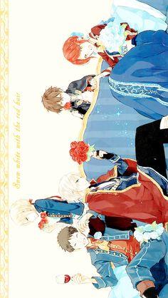 "himeyona: """"akagami no shirayukihime wallpapers (640x1136)"" """