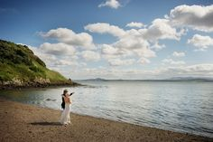 Edinburgh Wedding Venue | Looking towards Edinburgh from Inchcolm Island - a dreamy spot to get married.