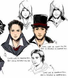 Syndicate sketches
