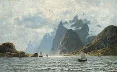 adelsteen_eilert_normann_fishing_vessels_on_a_norwegian_fjord_d5529218h.jpg (340×211)